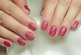 Ногти размытый дизайн
