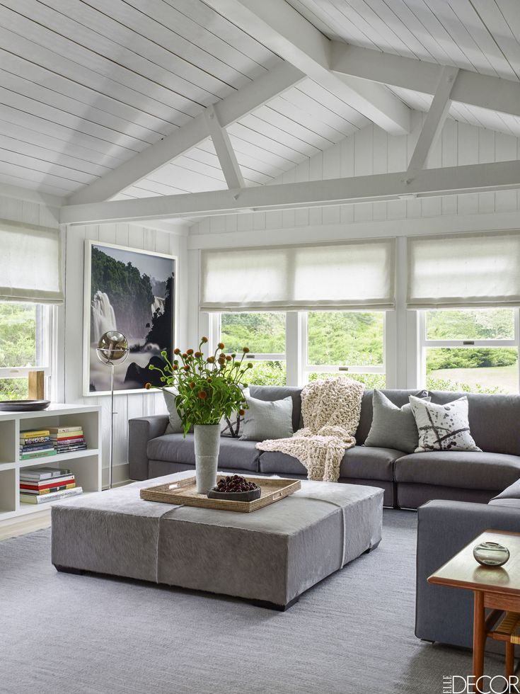 Leather Sofas HOUSE TOUR A Minimalist Ranch Makes For A Fresh Bachelor Pad
