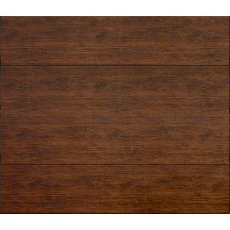 Martin garage doors wood collection summit 9 ft x 7 ft for Flush panel wood garage door