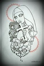 Easy Tattoo Outlines For Beginners Design Images 2 Tattoo Stencil Outline Zombie Girl Tattoos Zombie Tattoos