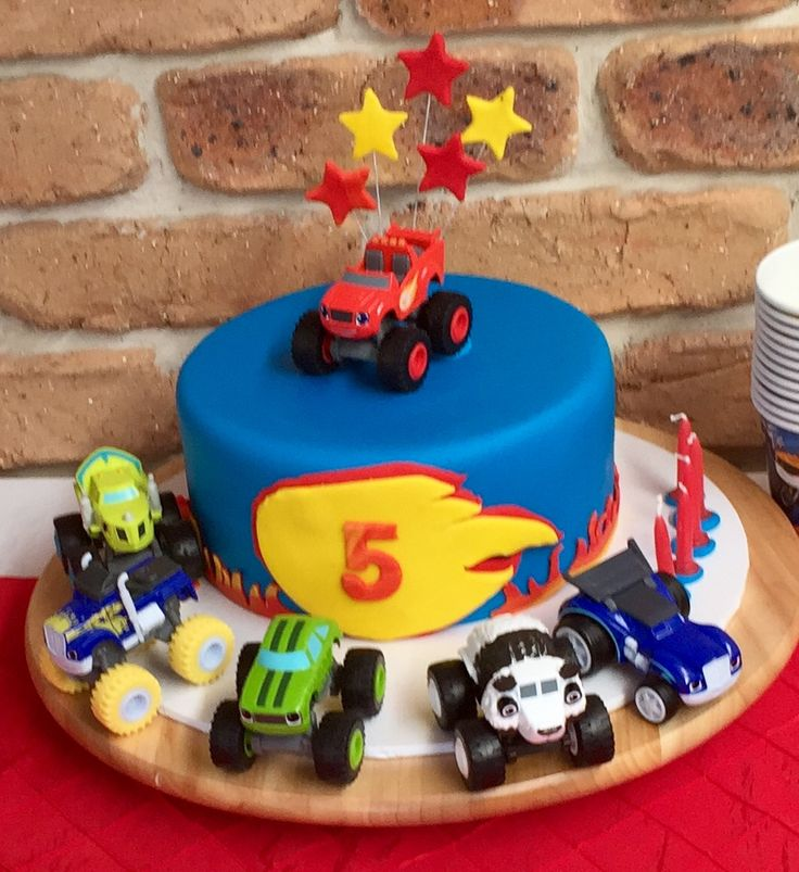 Best 25 Blaze Birthday Cake Ideas On Pinterest