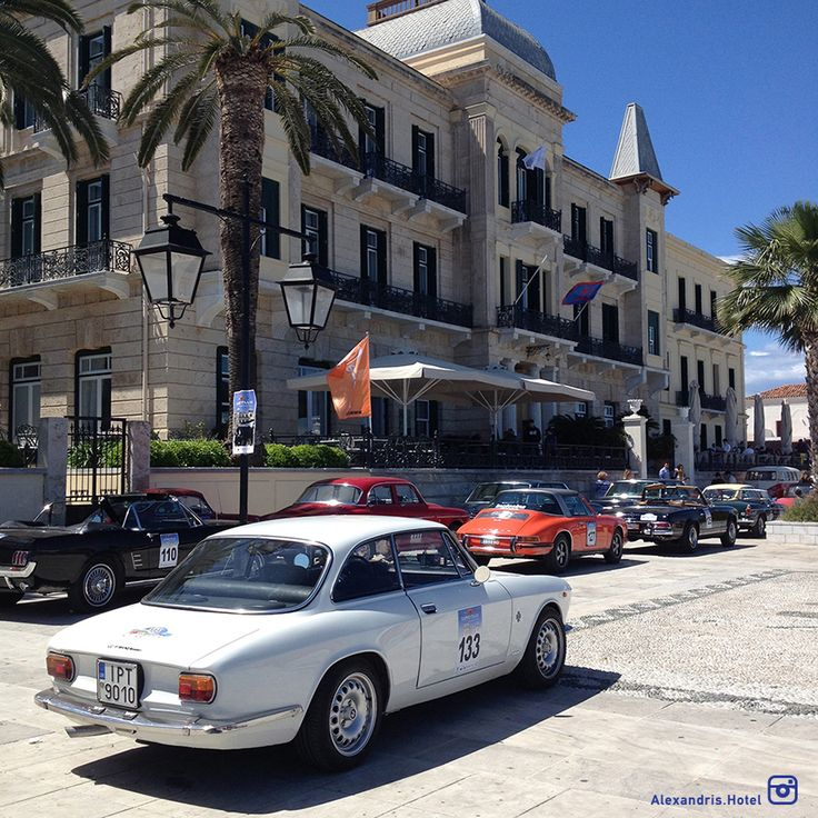 Spetses Classic Car Rally 2016