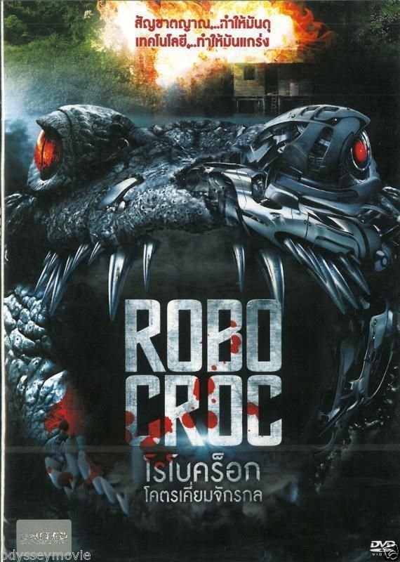 ROBOCROC [2014] DVD R0 - Corin Nemec, Dee Wallace, Keith Duffy, B-movie Sci-fi