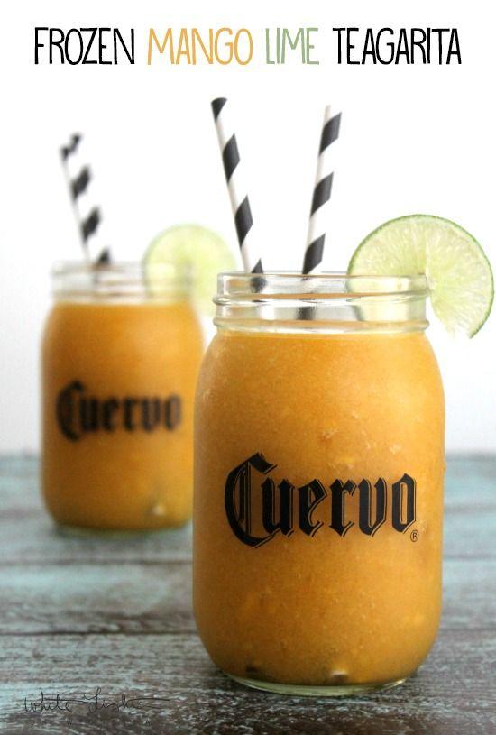 Frozen Mango Lime Jose Cuervo Iced Teagarita™ #CuervoTeagarita