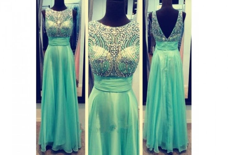 Elegant Long Scoop Beading V-back Chiffon Prom Dresses/Evening Dresses,Elegant Long Scoop Beading V-back Chiffon Prom Dresses/Evening Dresses,Elegant Long Scoop Beading V-back Chiffon Prom Dresses/Evening Dresses
