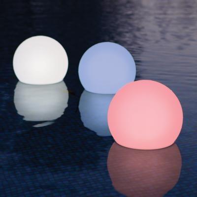 floating LED globes