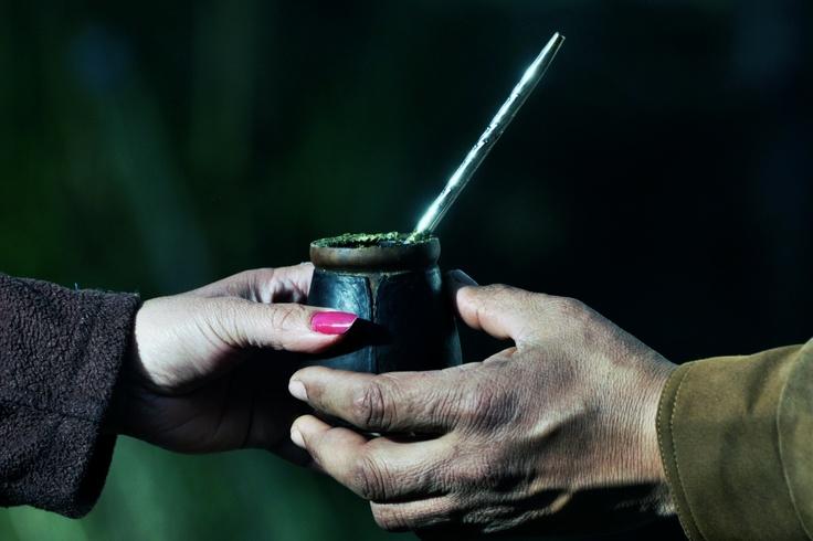 El mate, tradición que se comparte. www.viajaportupais.gov.ar