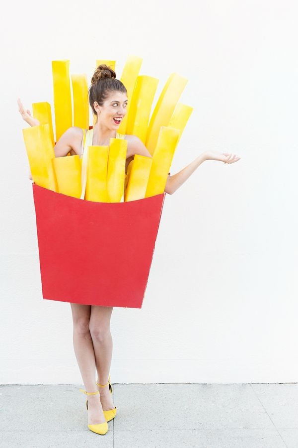DIY Fries (Before Guys!) Costume | Studio DIY®