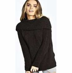 boohoo Cassie Off The Shoulder Roll Neck Boucle Knit Go back to nature with your knits this season and add animal motifs to your must- haves. When youre not wrapping up in woodland warmers, nod to chunky Nordic knits and polo neck jumpers in peppered ma http://www.comparestoreprices.co.uk/womens-clothes/boohoo-cassie-off-the-shoulder-roll-neck-boucle-knit.asp
