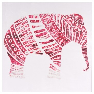 Indian Elephant - Hand Painted Artwork