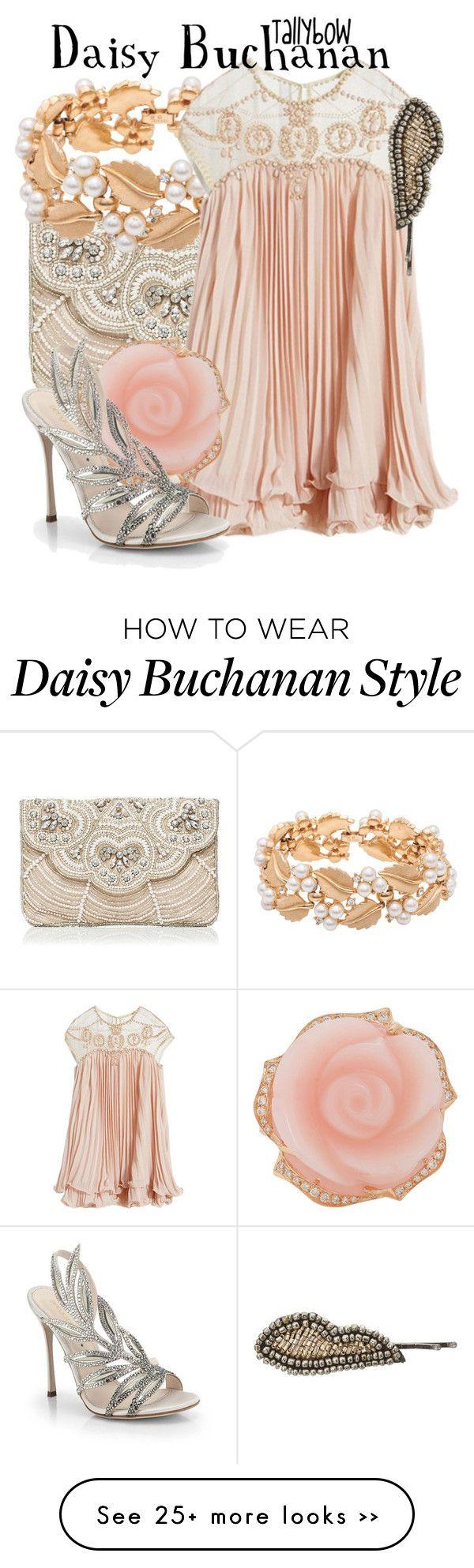 """Daisy Buchanan"" by tallybow on Polyvore"