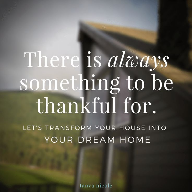There is always something to be thankful for. let's transform your ...