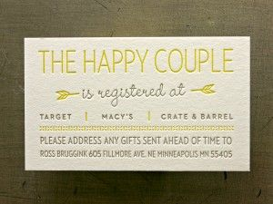 Best 25 wedding gift poem ideas on pinterest honeymoon for Cool places to register for wedding