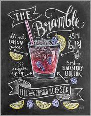 Brombeer-Cocktail