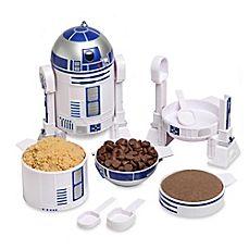 image of Star Wars™ R2D2 Measuring Cup Set