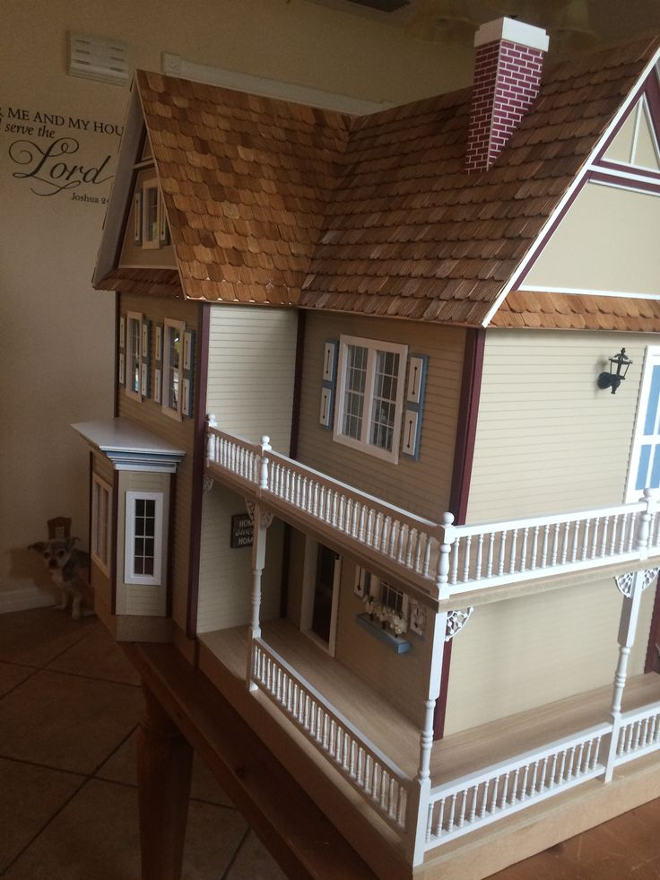 70 best Victoria\'s farmhouse dollhouse images on Pinterest | Doll ...