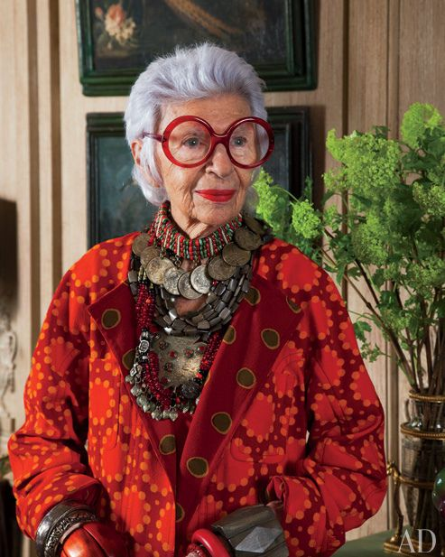 "VIDEO (7:50) - interview with Iris Apfel and Valerie Ramsey on the TODAY Show - interesting perspective on baby boomers driving the market for more ""real faces"" in the media."