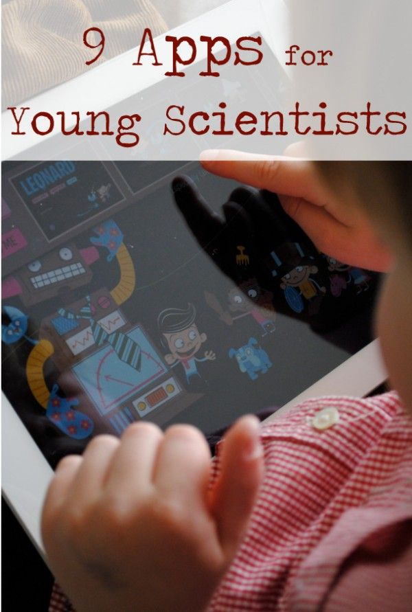 9 Apps for Young Scientist @Victoria Waters