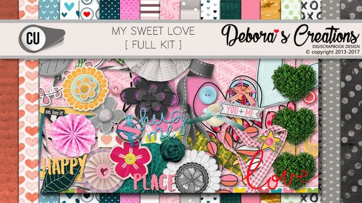 My Sweet Love Full Kit by Debora's Creations CU