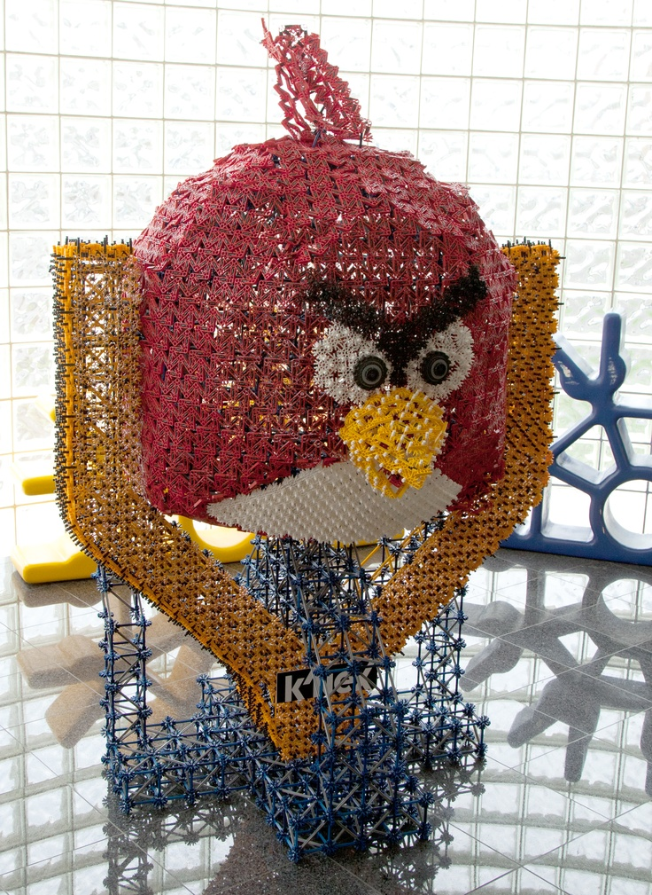 Philadelphia area K'NEX fans-- Guess how many K'NEX pieces make up this GIANT Red Bird and you can win tickets to a 2013 Philadelphia Eagles game and the entire K'NEX Angry Birds Building Set line! Enter now! http://www.knex.com/Eagles-Angry-Birds-Guess-Number-of-Pieces/