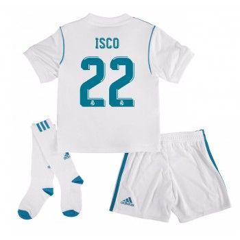 Real Madrid Isco 22 kläder Barn 17-18 Hemmatröja Kortärmad  #Billiga #fotbollströjor