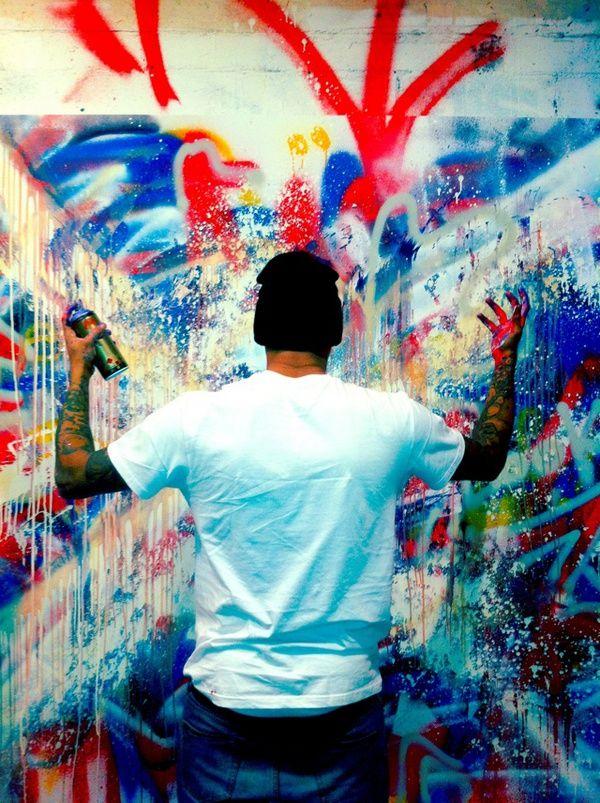 chris brown #graffiti .