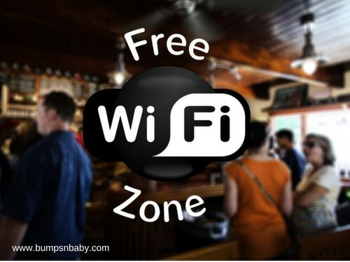 social media safety free wifi