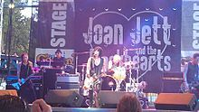Joan Jett & The Blackhearts - Oct 2,1983 - Pocono Downs, Wilkesbarre PA.