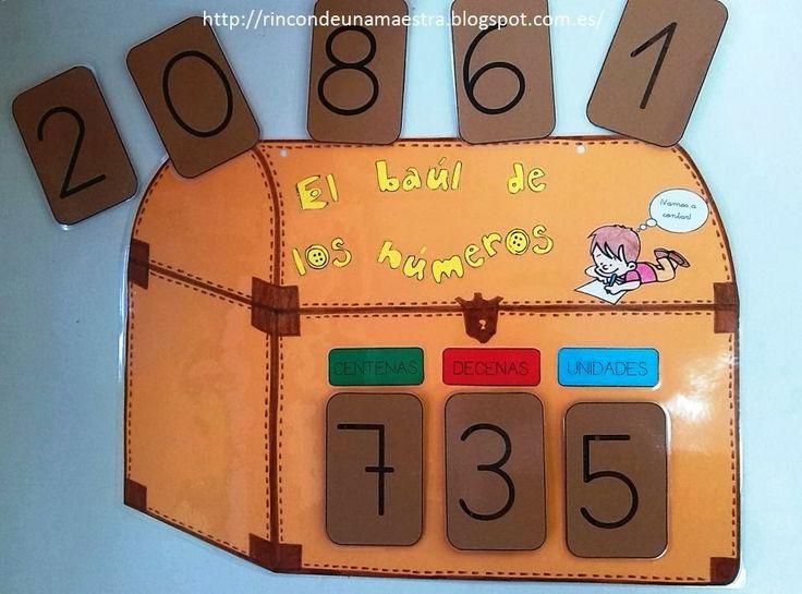 Rincón de una maestra: Descomposición de números