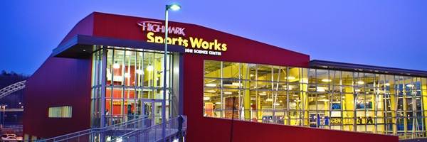 Sportsworks, Pittsburgh, PA (part of the Carnegie Science Center)