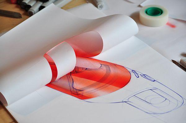 Handheld Vacuum Cleaner airbrush detail #sketch #designsketch #idsketch #productdesign #WIP