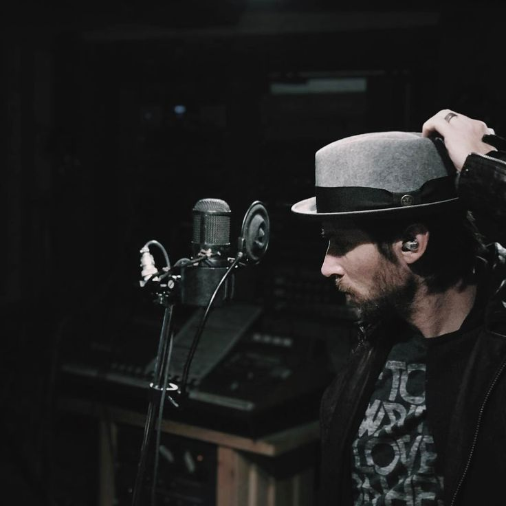 Troy Baker recording on his new album Window to the Abbey