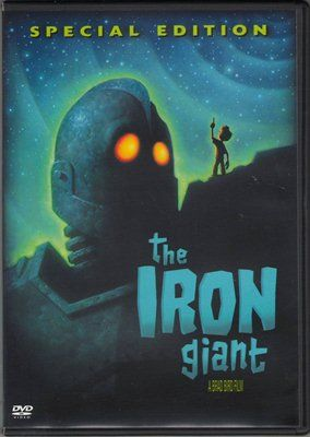The Iron Giant A Brad Bird Film Special Edition DVD Movie Robot