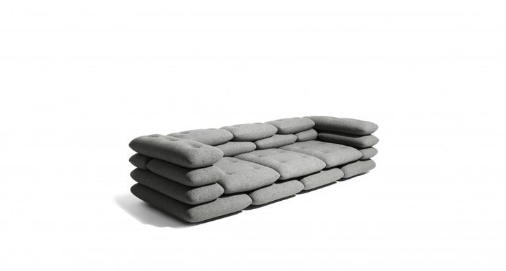 The Versus Brick Sofa by Versus