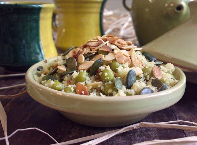 Mini tajine di cous cous croccante alle mandorle e semi di zucca... come in ogni mia ricetta, lasciate che vi racconti un piccolo aneddoto :) La cosa veram