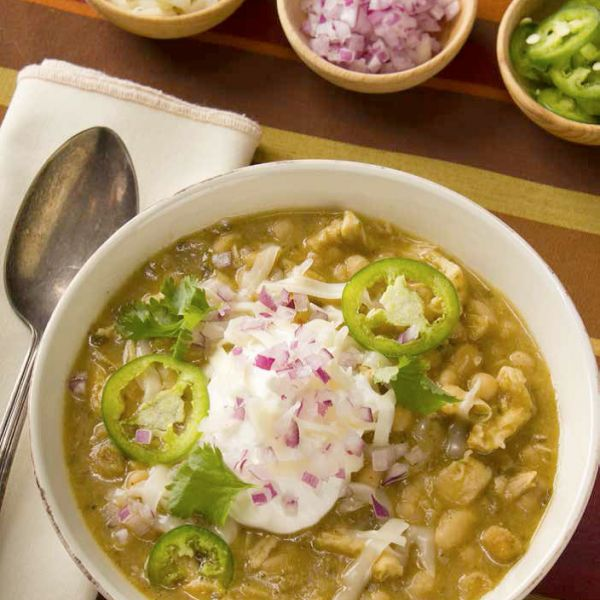 If you are looking for something different to serve at your next football party try this Navy Bean And Chicken Chili from www.Emeril's.com