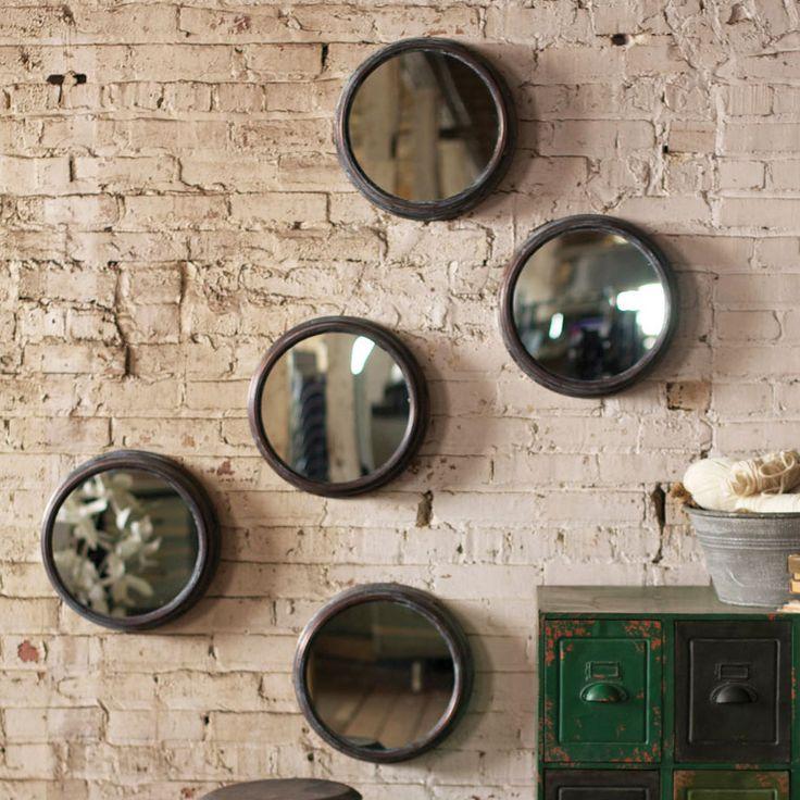 Mejores 199 im genes de mirror set en pinterest conjunto for Conjunto espejos redondos