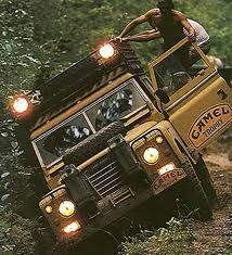 Series III during the Camel Trophy competition.