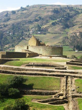 Ingapirca Inca Ruins near Cuenca, Ecuador