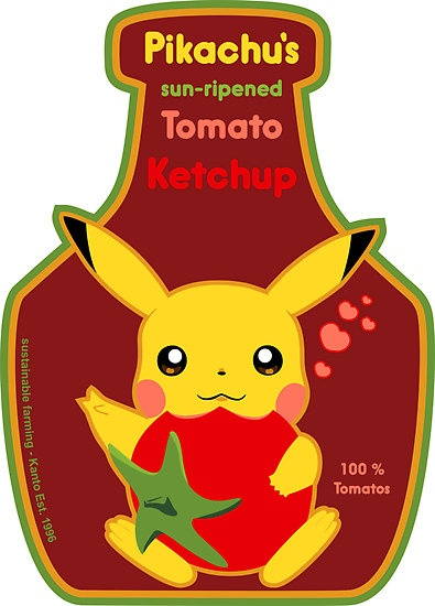 pikachu's ketchup | Animation | Pinterest | Ketchup ...