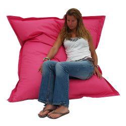 Fuchsia Roze zitzak van 155 cm x 140 cm
