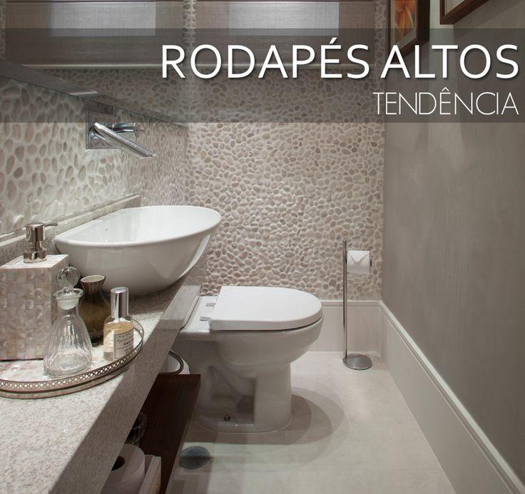 Decor Salteado - Blog de Decoração e Arquitetura : Rodapés altos – veja lindos ambientes com essa tendência + tipos e dicas!