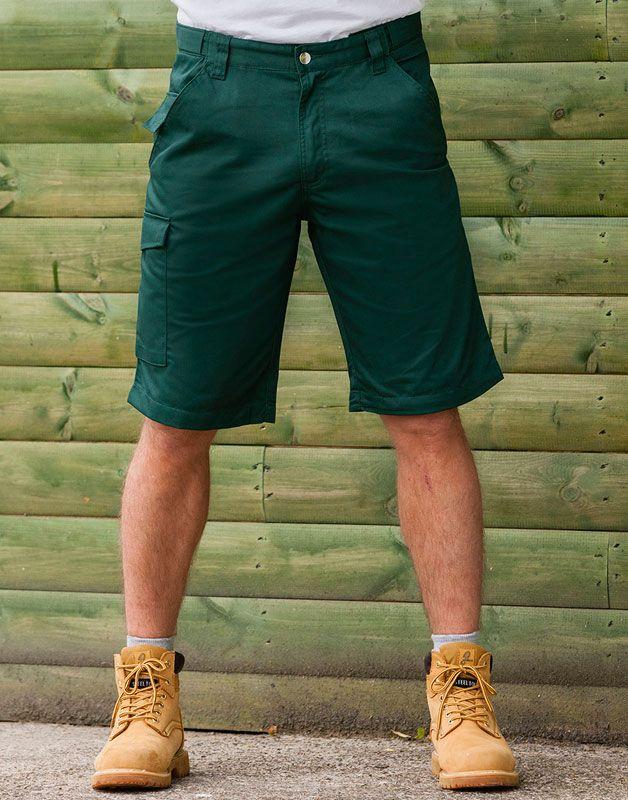 Pantaloncini da lavoro in tessuto resistente da personalizzare online