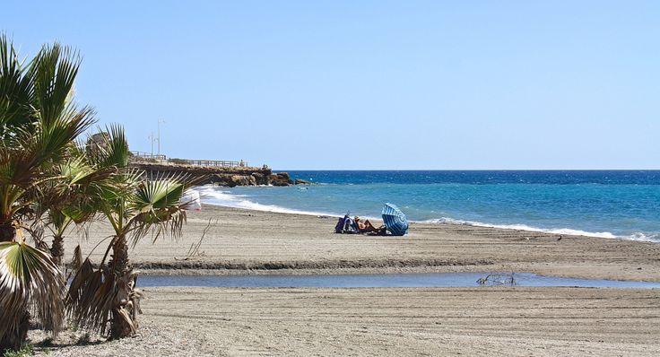 Playa El Chorillo, Nerja, Spain