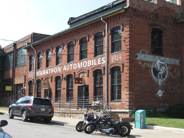 Old Brick Buildings for Sale | ... in a great old brick factory building, the Marathon Motor Works