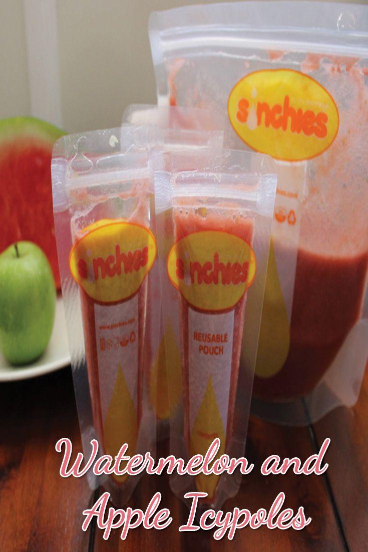 Watermelon and Apple Icypoles