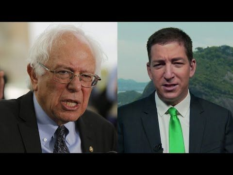 Glenn Greenwald: Bernie Sanders Would Have Been a Stronger Candidate Against Donald Trump - YouTube