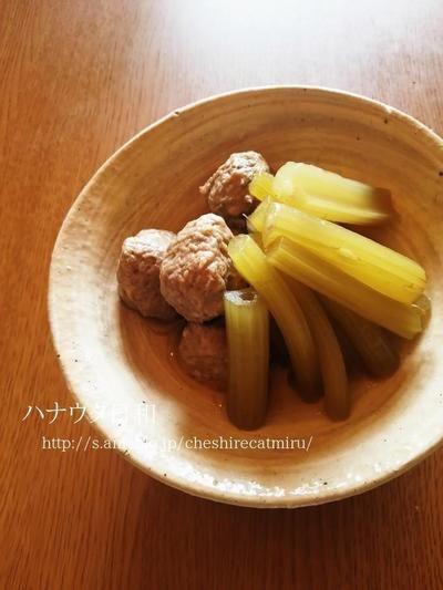 蕗とつみれの煮物 by miruさん | レシピブログ - 料理ブログのレシピ満載!