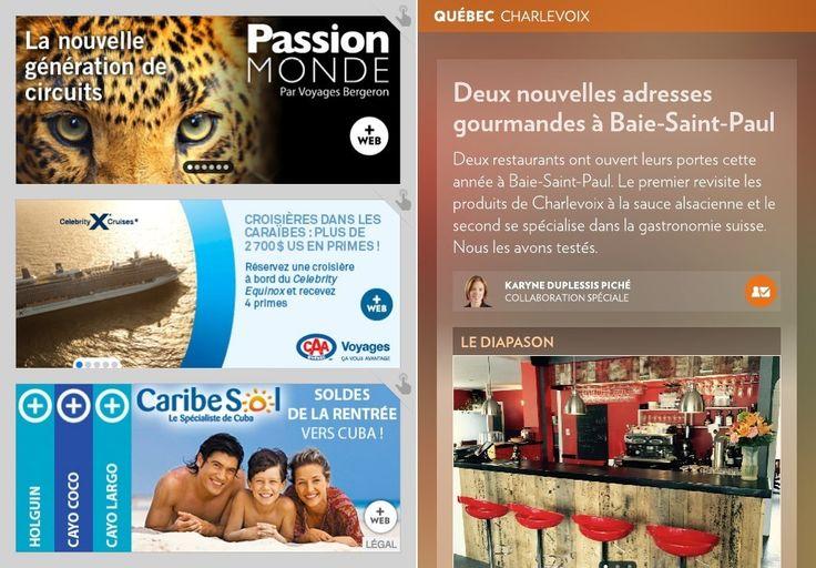 Deux nouveaux restaurants à Baie-Saint-Paul - La Presse+