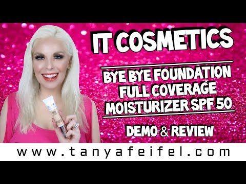 It Cosmetics Bye Bye Foundation Full Coverage Moisturizer SPF 50 | Demo & Review | Tanya Feifel http://cosmetics-reviews.ru/2018/03/01/it-cosmetics-bye-bye-foundation-full-coverage-moisturizer-spf-50-demo-review-tanya-feifel/